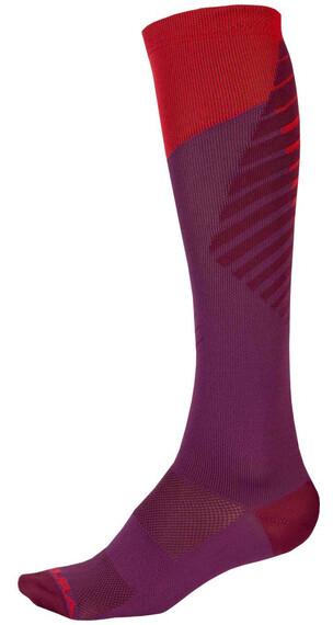Endura SingleTrack Sokker Dame rød/lilla